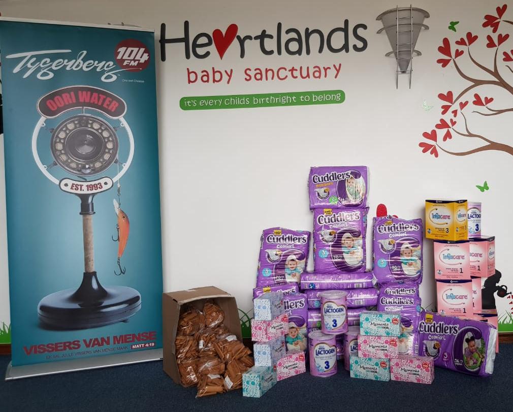 Lid van 104FM NetWERK: Personeel reik uit: Heartlands Baby Sanctuary