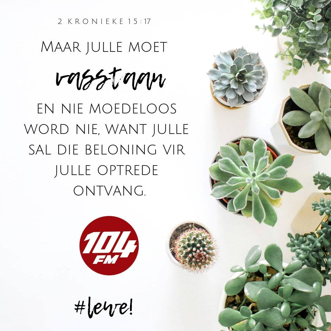 Dagstukkies met Karien 25 Junie 2019