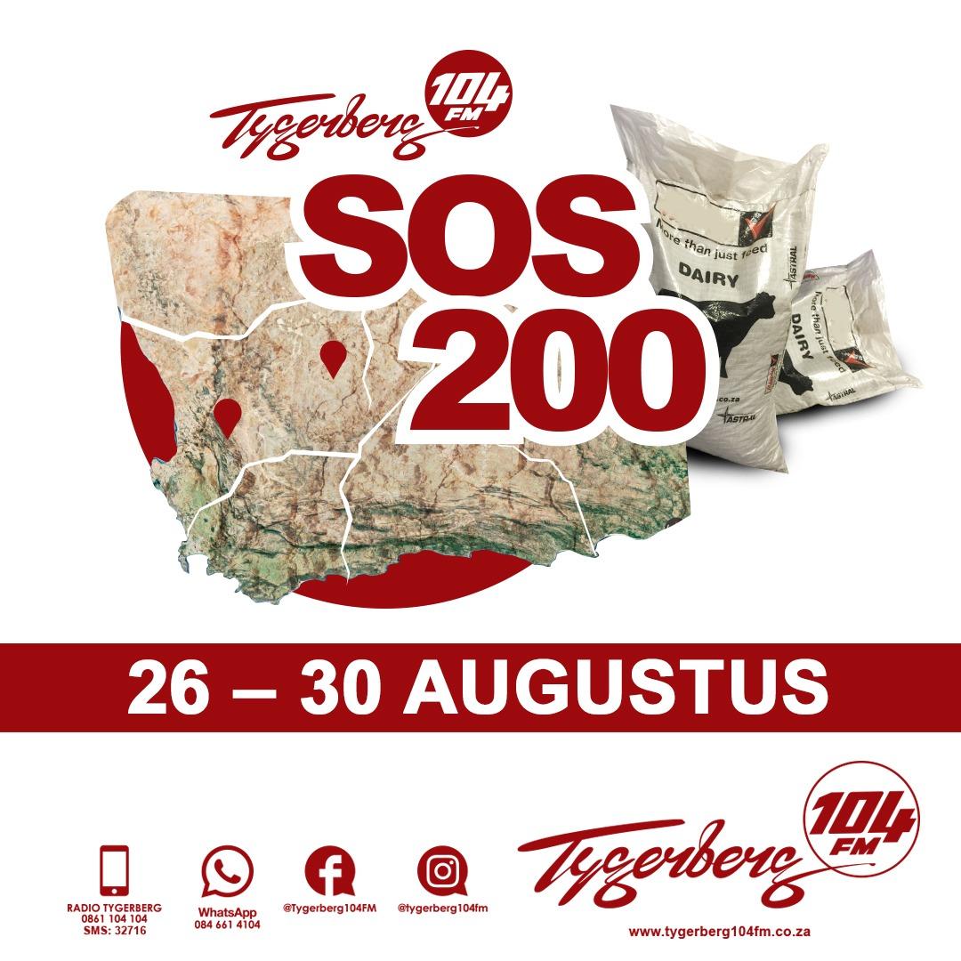 Projek SOS200 gaan boere se nood verlig
