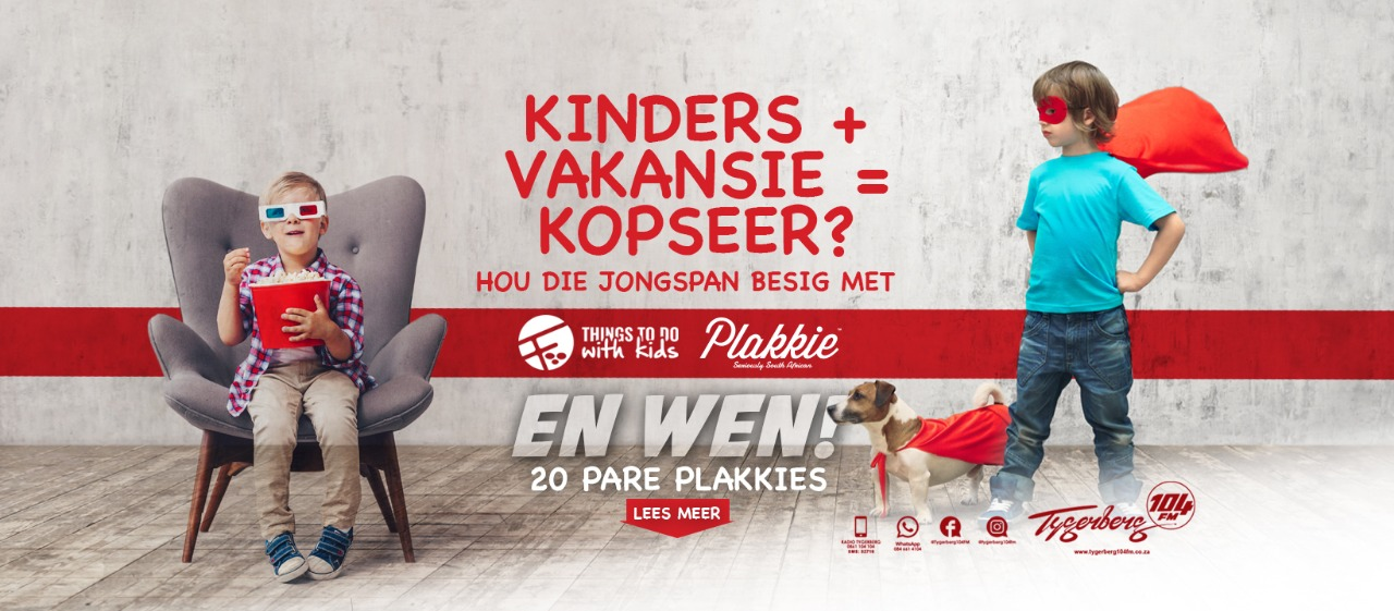 KOMPETISIE! Wen met Things to do with kids en Plakkie Suid-Afrika